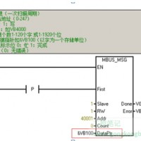 【S7-200】Modbus示例程序 写存储器